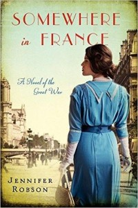 Somewhere in France book cover