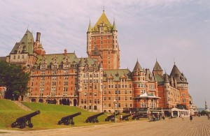 ChateauFrontenac-Quebec poster