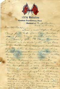 World War I Letters @ Eglinton St. George's United Church | Toronto | Ontario | Canada