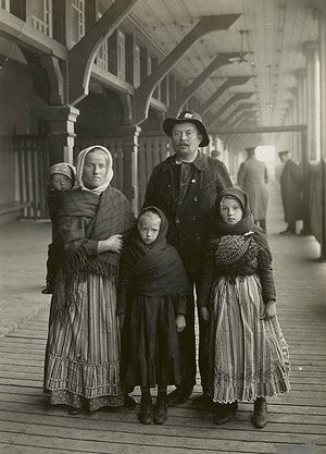 German immigrants to Canada about 1911