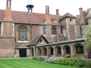 Exterior view of Queen's College, Cambridge