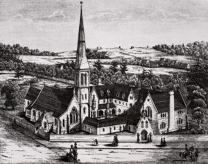 Engraving of St. Michael's College